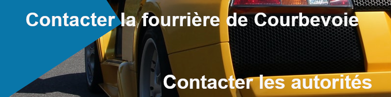 S'assurer que son véhicule est à la fourrière de Courbevoie