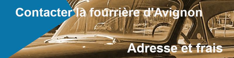 Coordonnées et frais de sortie fourrière d'Avignon