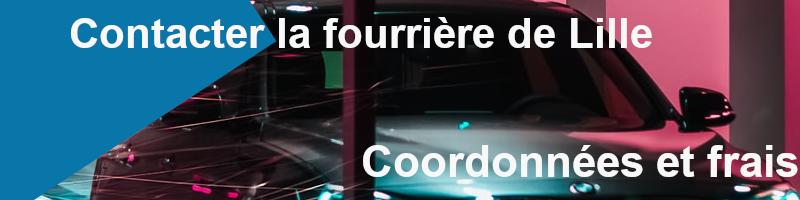 coordonnées et frais fourrière de Lille