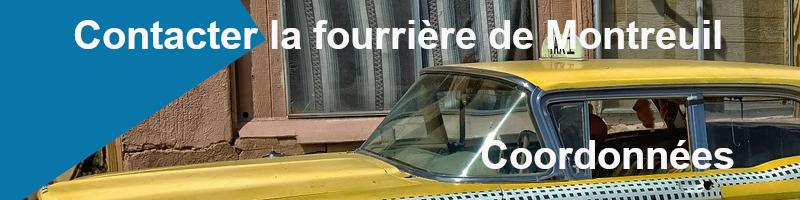 coordonnées fourrière Montreuil