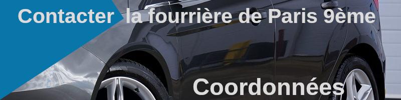Coordonnées fourrière de Paris 9ème