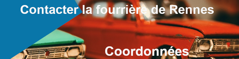 coordonnées fourrière Rennes