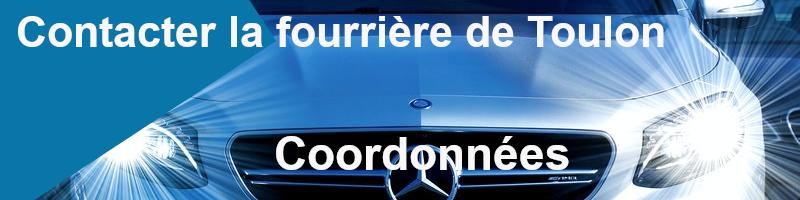 coordonnées fourrière Toulon