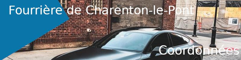 coordonnées fourrière Charenton-le-Pont