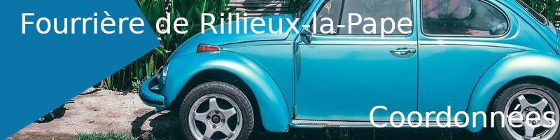 Coordonnées fourrière Rillieux-la-Pape