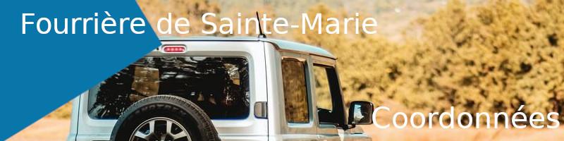 coordonnées fourrière Sainte-Marie