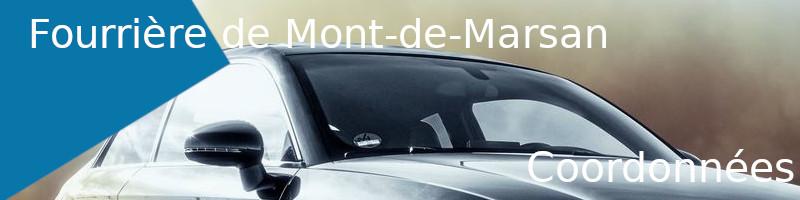 coordonnées fourrière Mont-de-Marsan