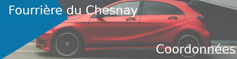fourrière Le Chesnay coordonnées