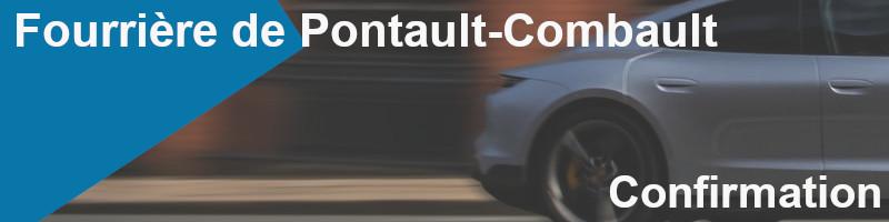 confirmation fourrière Pontault-Combault