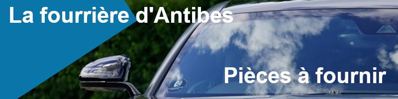 Pièces à fournir fourrière Antibes