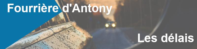 Délais fourrière Antony