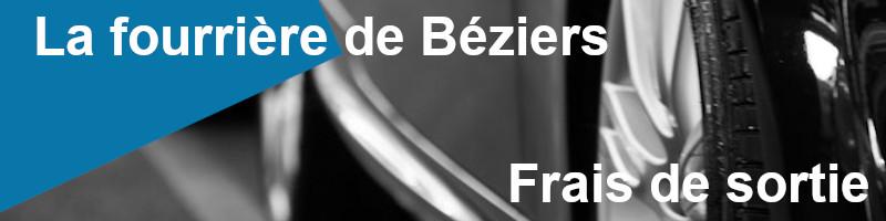Frais de sortie fourrière Béziers