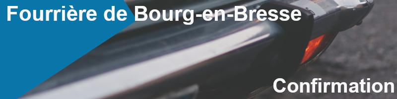 confirmation mise fourrière bourg-en-bresse