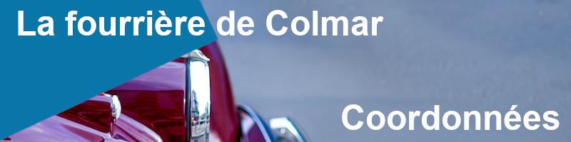 Coordonnées fourrière Colmar