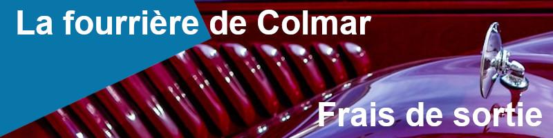 Frais de sortie fourrière Colmar