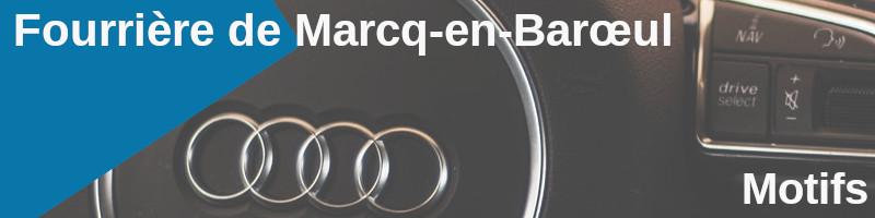 motifs fourriere marcq-en-barœul