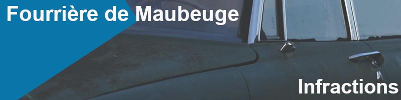 infractions fourrière maubeuge