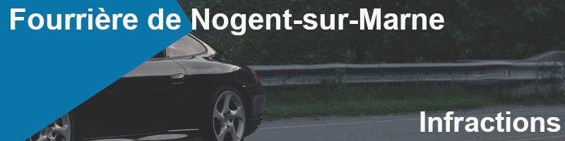infractions fourrière nogent-sur-marne
