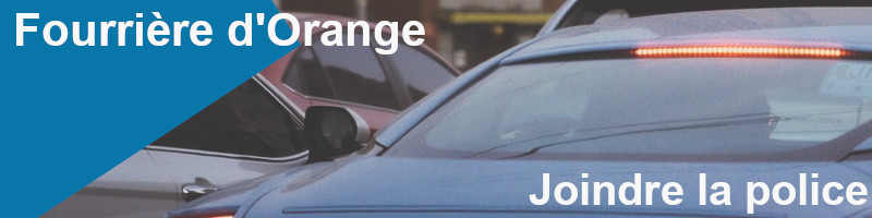 joindre police orange