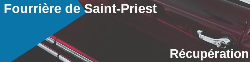 récupération véhicule fourrière saint-priest