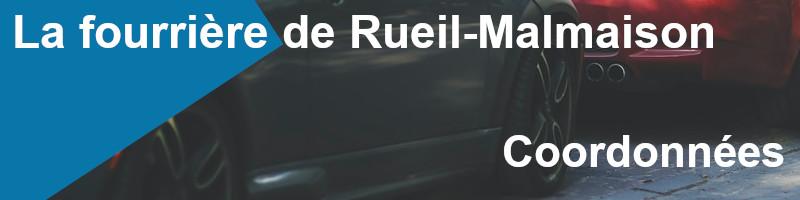 Coordonnées fourrière Rueil-Malmaison