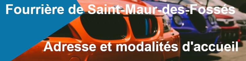 Adresse et modalités fourrière Saint-Maur-des-Fossés