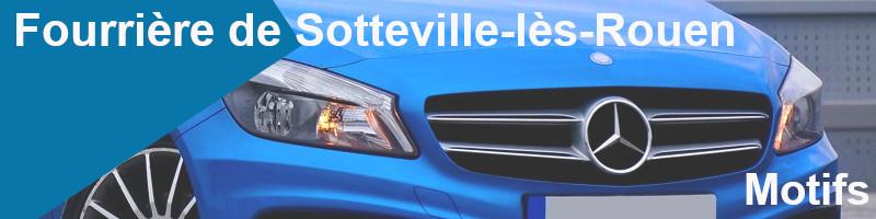 motifs fourrière Sotteville-lès-Rouen