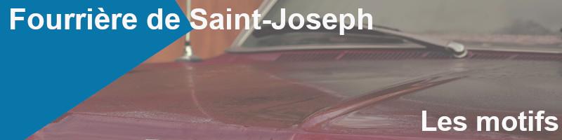motifs fourrière saint-joseph
