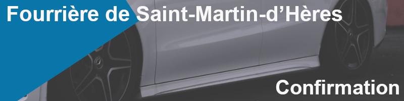 confirmation fourrière Saint-Martin-Hères