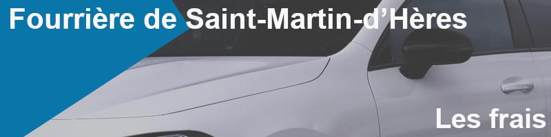frais fourrière Saint-Martin-Hères