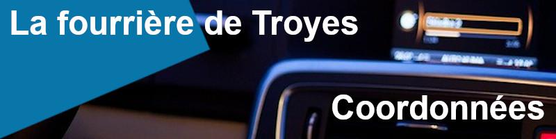 Coordonnées fourrière Troyes