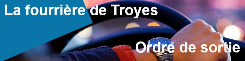 Ordre sortie fourrière Troyes
