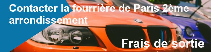 frais sortie fourrière paris 2ème arrondissement