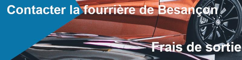 frais de sortie fourrière de Besançon