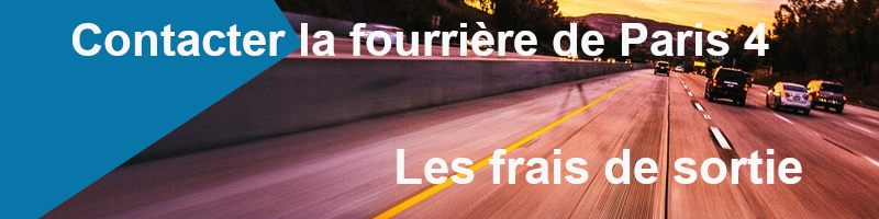 frais de sortie fourrière de Paris 4