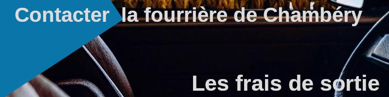 frais de sortie de la fourrière de Chambéry