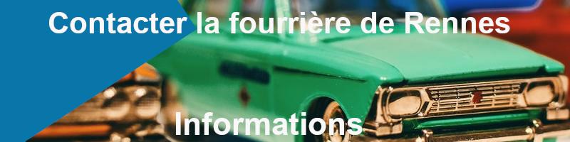 s'informer présence véhicule fourrière Rennes