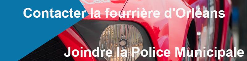 joindre la police municipale fourrière Orléans
