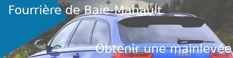 mainlevée fourrière Baie-Mahault