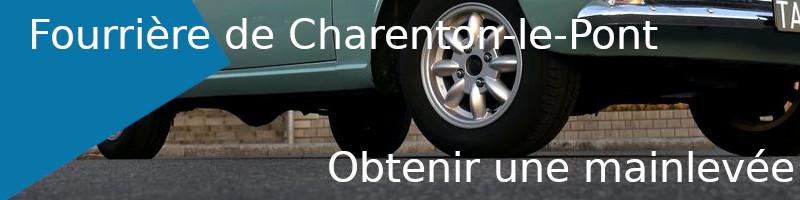 mainlevée fourrière Charenton-le-Pont