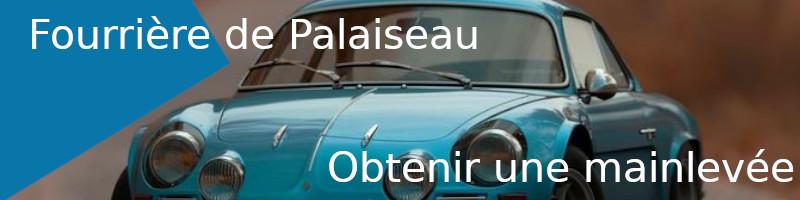 Mainlevée fourrière Palaiseau