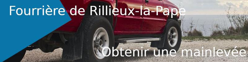 Mainlevée fourrière Rillieux-la-Pape
