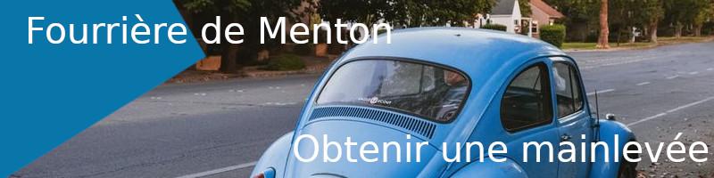 mainlevée fourrière Menton