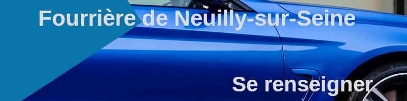Se renseigner fourrière Neuilly-sur-Seine