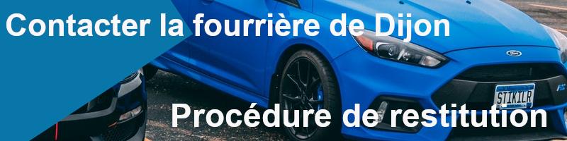 procédure restitution fourrière Dijon